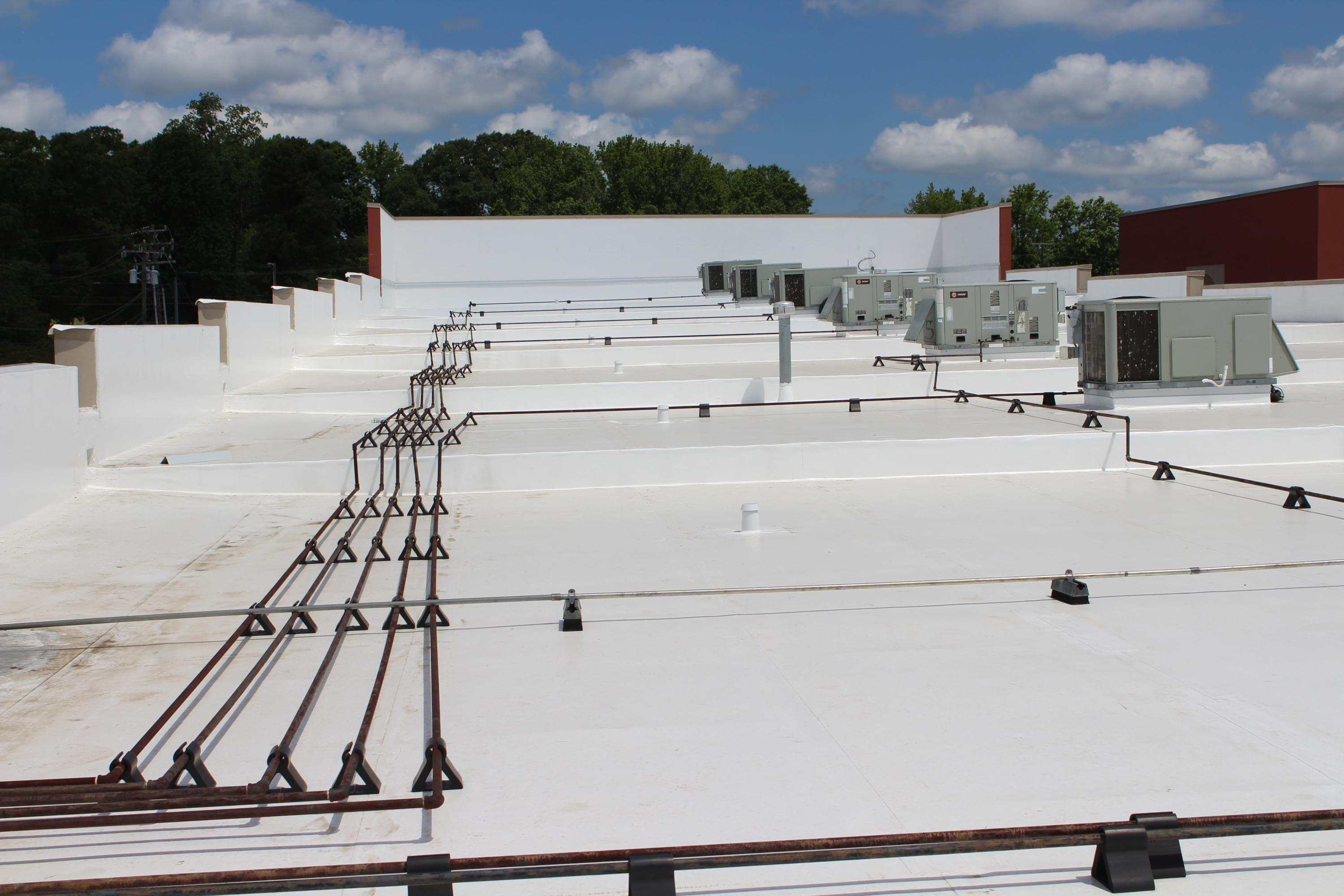 Commercial Roofing, TPO Roof, North Carolina