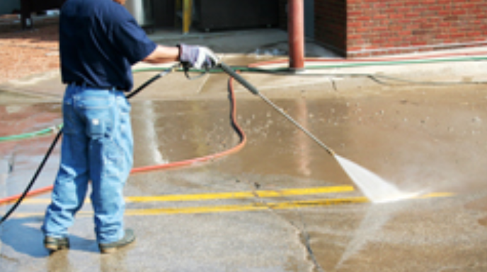 Pressure Washing, Exterior Building Services, Commercial Properties, SOuth Carolina, North Carolina